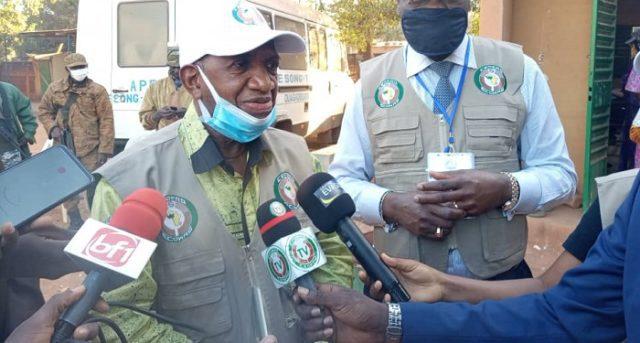 Komara Kabiné, ancien premier ministre de la Guinée Conakry, conduit la mission d'obseravtion de la CEDEAO_Libre Info