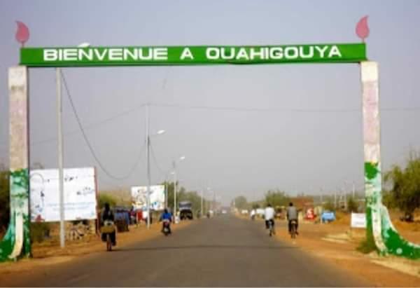 Entrée de la ville de Ouahigouya,chef lieu de la région du nord