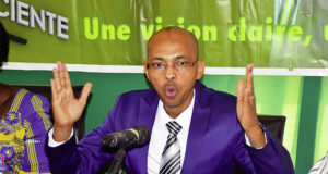 Le candidat du Mouvement pour le changement et la renaissance (MCR), Tahirou Barry. Photo Sidwaya