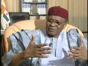 Mamadou Tandja ancien president du Niger