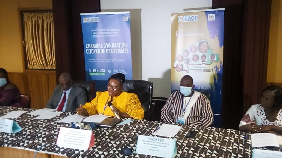 Cadre de concertation des organisations intervenant sur le genre et la participation citoyenne des femmes au Burkina dresse un bilan satisfaisant de la participation des femmes