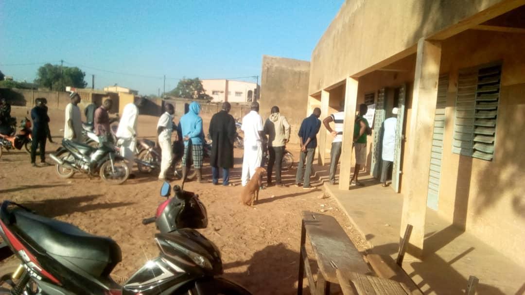 Burkina Elections : constat dans les bureaux de vote de l'arrondissement 3 de Ouagadougou