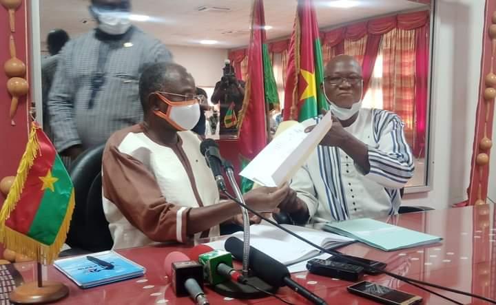 Administration territoriale: le ministre Clément Sawadogo veut réorganiser, réformer et poursuivre le dialogue social