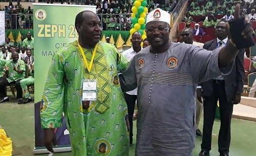 Vœux de nouvel an: Zéphirin Diabré souhaite plein succès à Eddie Komboigo le nouveau chef de file de l'opposition