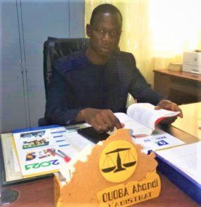 Ahandi Ouoba, procureur du Faso par intérim près le Tribunal de grande instance de Kaya.