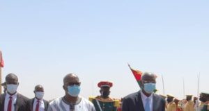 Visite du président de la Transition malienne Bah N'Daw au Burkina