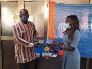 Remise de matériels solaires au ministère en charge de l'énergie par l'entreprise Energy and Services: l'énergie solaire au Burkina Faso