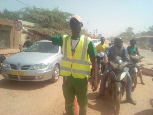 sécurité routière le travail des bénévoles burkina