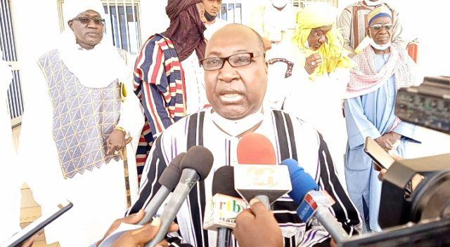 Zéphirin Diabré reçoit les Emirs du Sahel