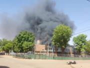 attaque de l'ambassade de France et de l'État-major général des armées