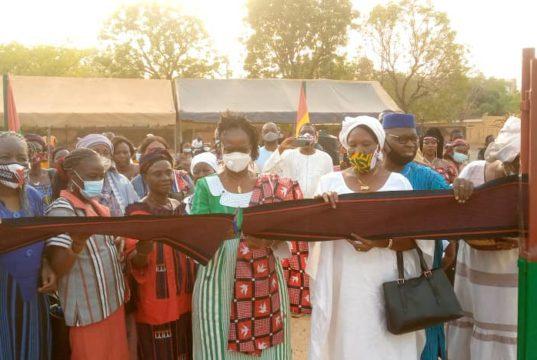 "lancement officielle de l'initiative l'initiative ""Amazones de Sankara """