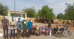 Gaoua: la Police nationale met aux arrêts 5 présumés braqueurs
