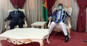 Zéphirin Diabré rend une visite de courtoisie à Bala Sakandé