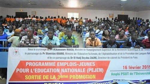 Burkina employabilité : le gouvernement annonce le recrutement de 1800 enseignants PEJEN