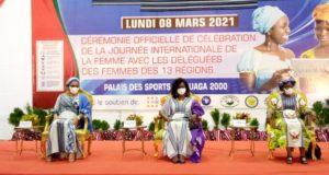 8 mars 2021 à Ouagadougou