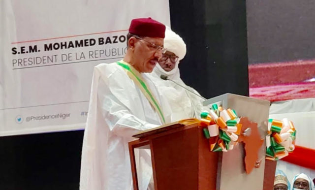 Niger Investiture Mohamed Bazoum