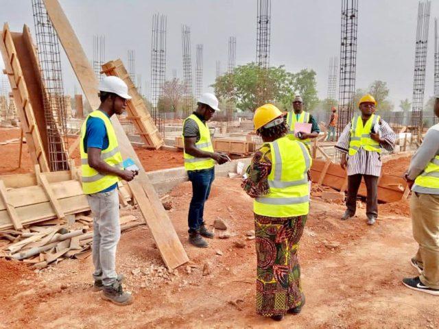 Sud Ouest Gaoua Construction du centre universitaire de Gaoua