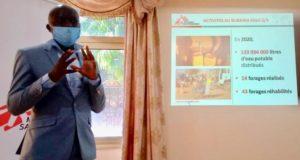 Interventions de médecins sans frontières au Burkina Faso en 2020
