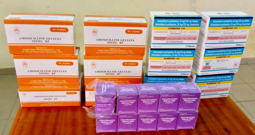Lutte contre la fraude: Des médicaments de 712 mille FCFA saisis par la police de Fada