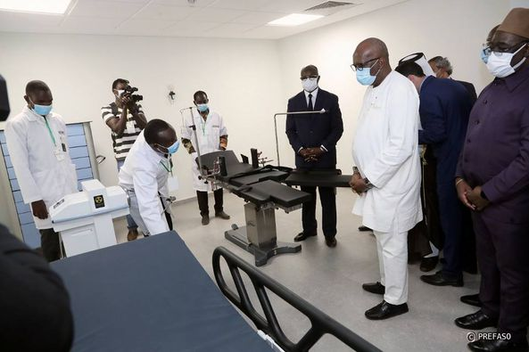 Burkina Faso Cancer Radiothérapie Bogodogo