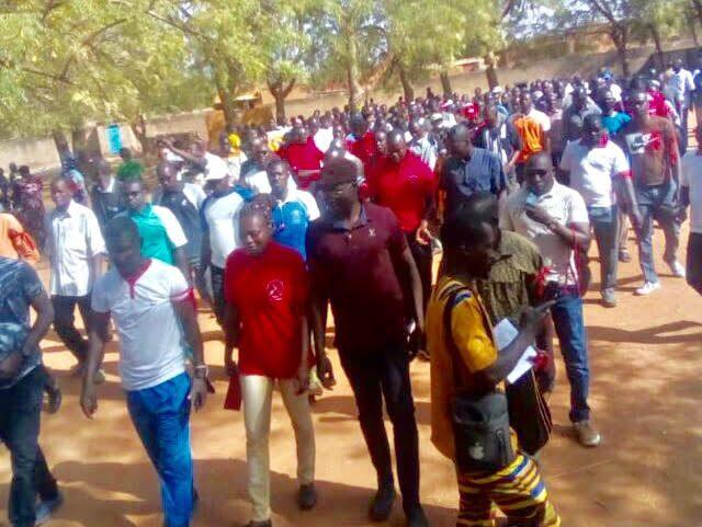 Burkina Faso Fête du Travail Syndicat Ziniaré