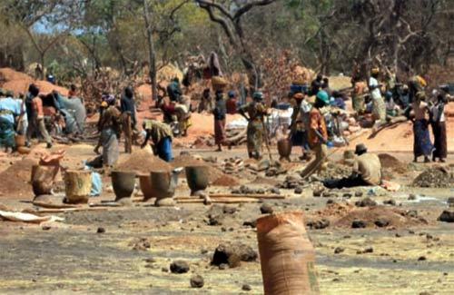 Burkina Faso Orpaillage Batié Ecoulement 5 Morts