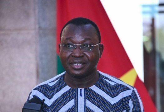 Ousséni Tamboura Ministre