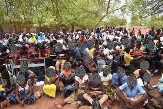 Enfants Burkina Journées