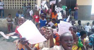 Burkina Faso Examen CEP 2021 Cassou Province Ziro
