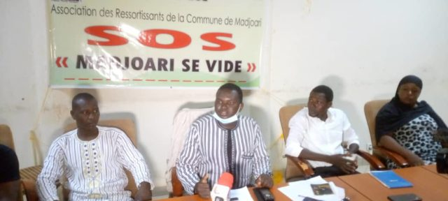 Madjoari Burkina conférence