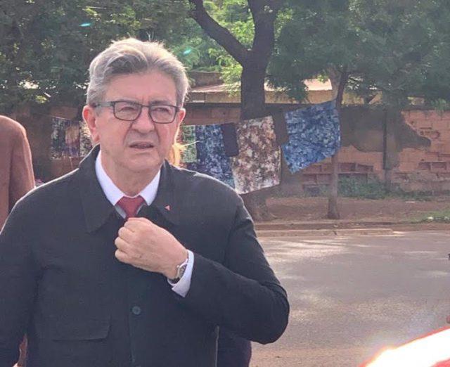 Burkina Faso Visite Jean-Luc Mélenchon Campagne Africaine