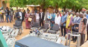 Burkina Faso Province Kourwéogo Boussé Association Monde Solidaire Matériels Médicaux