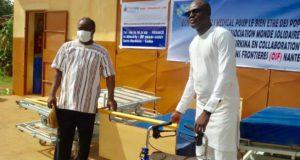 Burkina Faso CMA Paul VI Association Monde Solidaire Matériels Médicaux