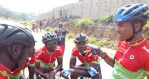 Cyclisme Burkina JOTokyo