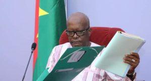 rentrée gouvernementale Roch Kaboré