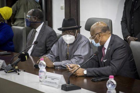 Mali transition Goodluck Jonathan