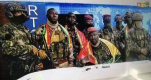 Guinée junte geler salaires