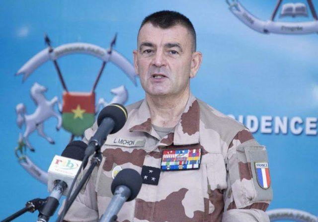 Sahel Barkhane général Michon