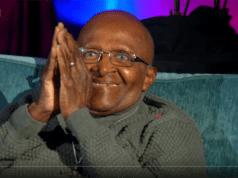 L'archevêque retraité Desmond Tutu.