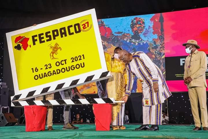 """Culture:""""le Fespaco sous le signe  de la résilience et de l'abnégation du peuple burkinabè""""(Président Roch Kaboré)"""