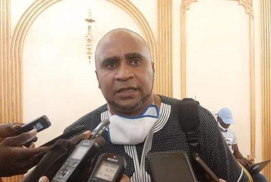 Carlos Teixeira,président de la fédération Bissau guinéenne